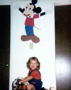 Rachel (age 2 or 3).