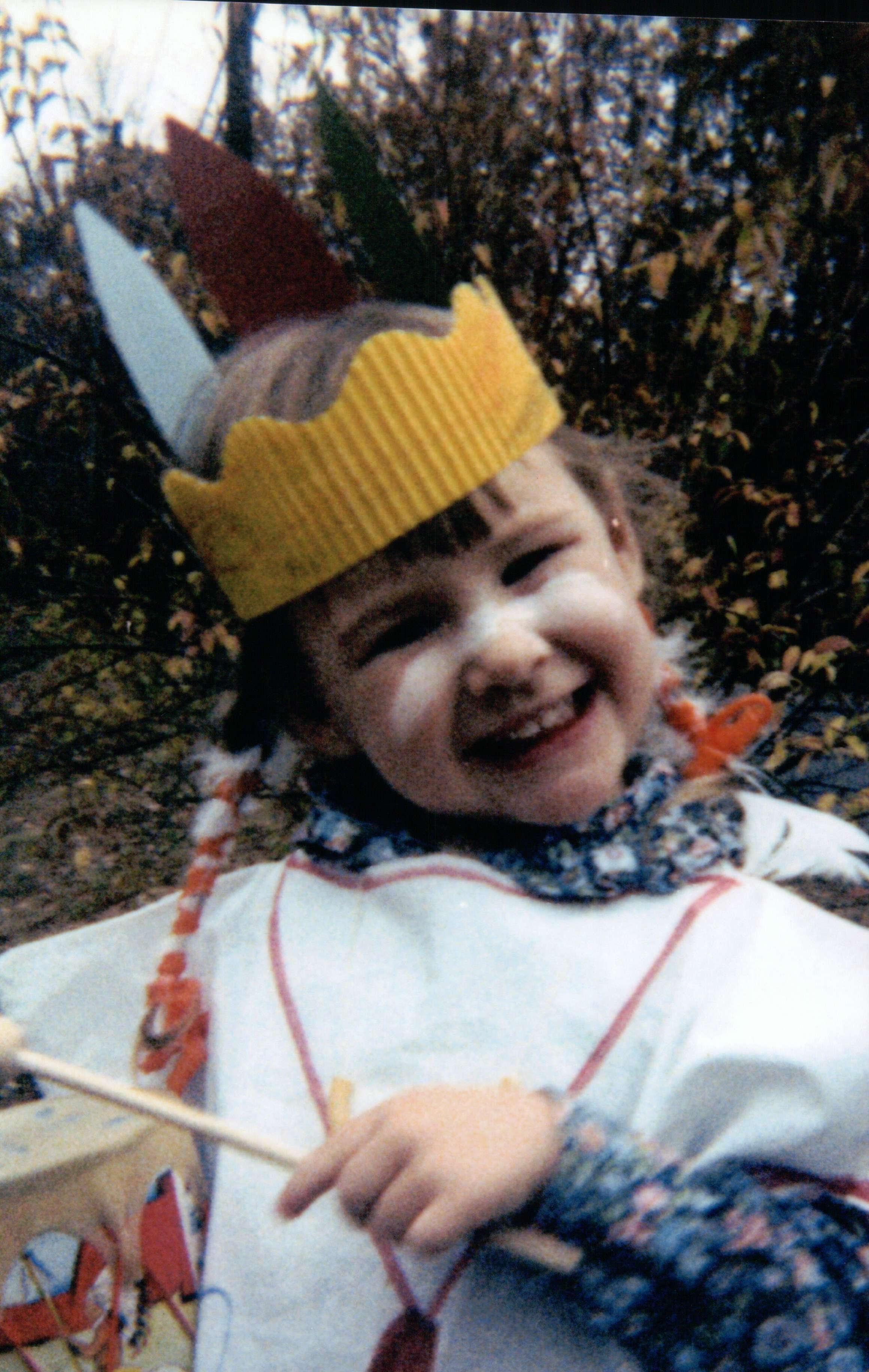 Rachel (about age 4).