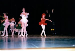 "Rachel in her first ballet ""solo""."