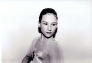Rachel, about age 10.