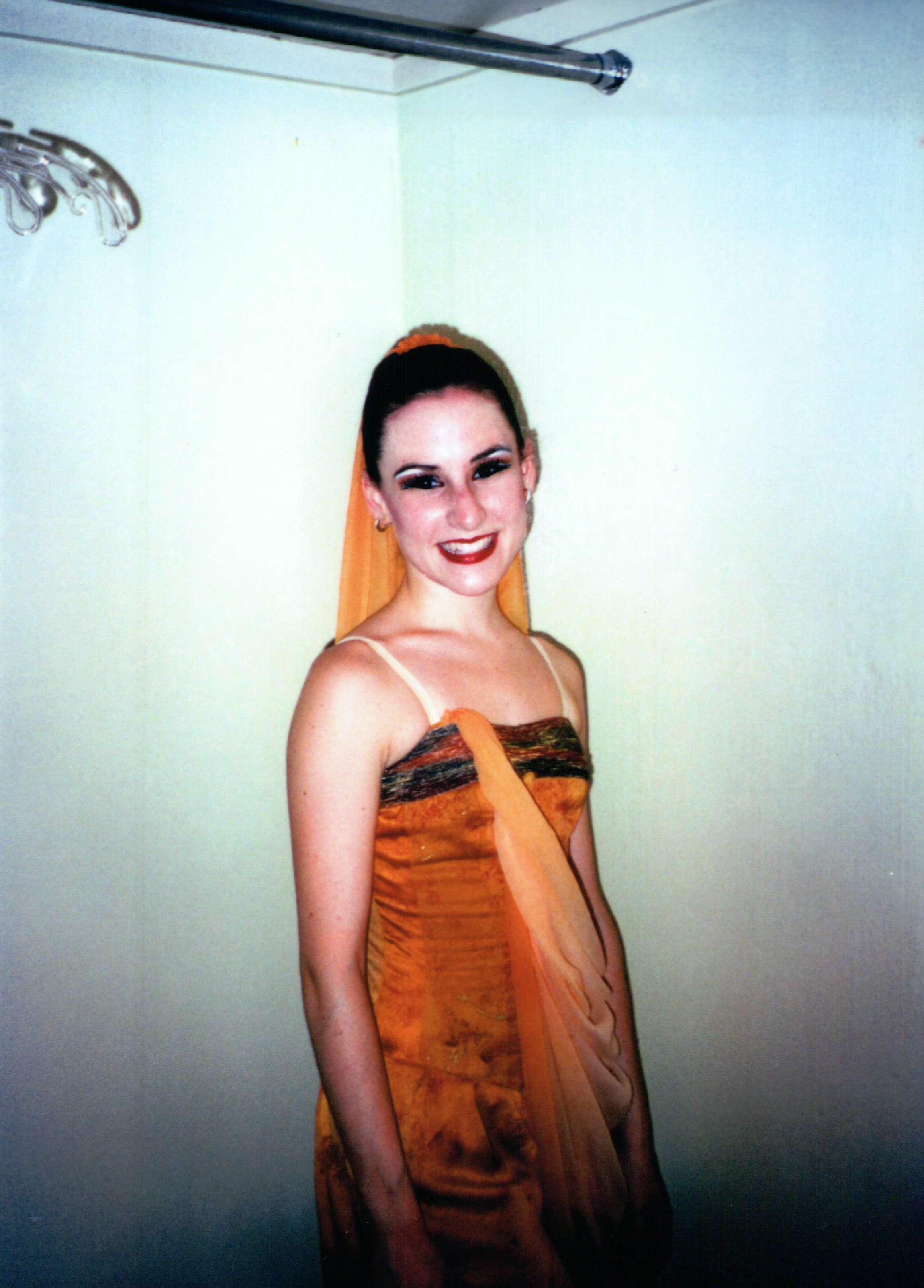 "Rachel, after a world premiere of ""Blood of Seyavash""."