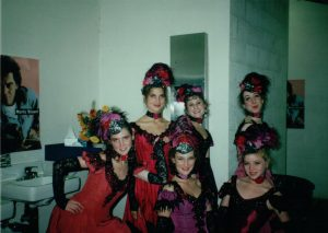 """Rachel in a performance of """"Can-Can"""""""