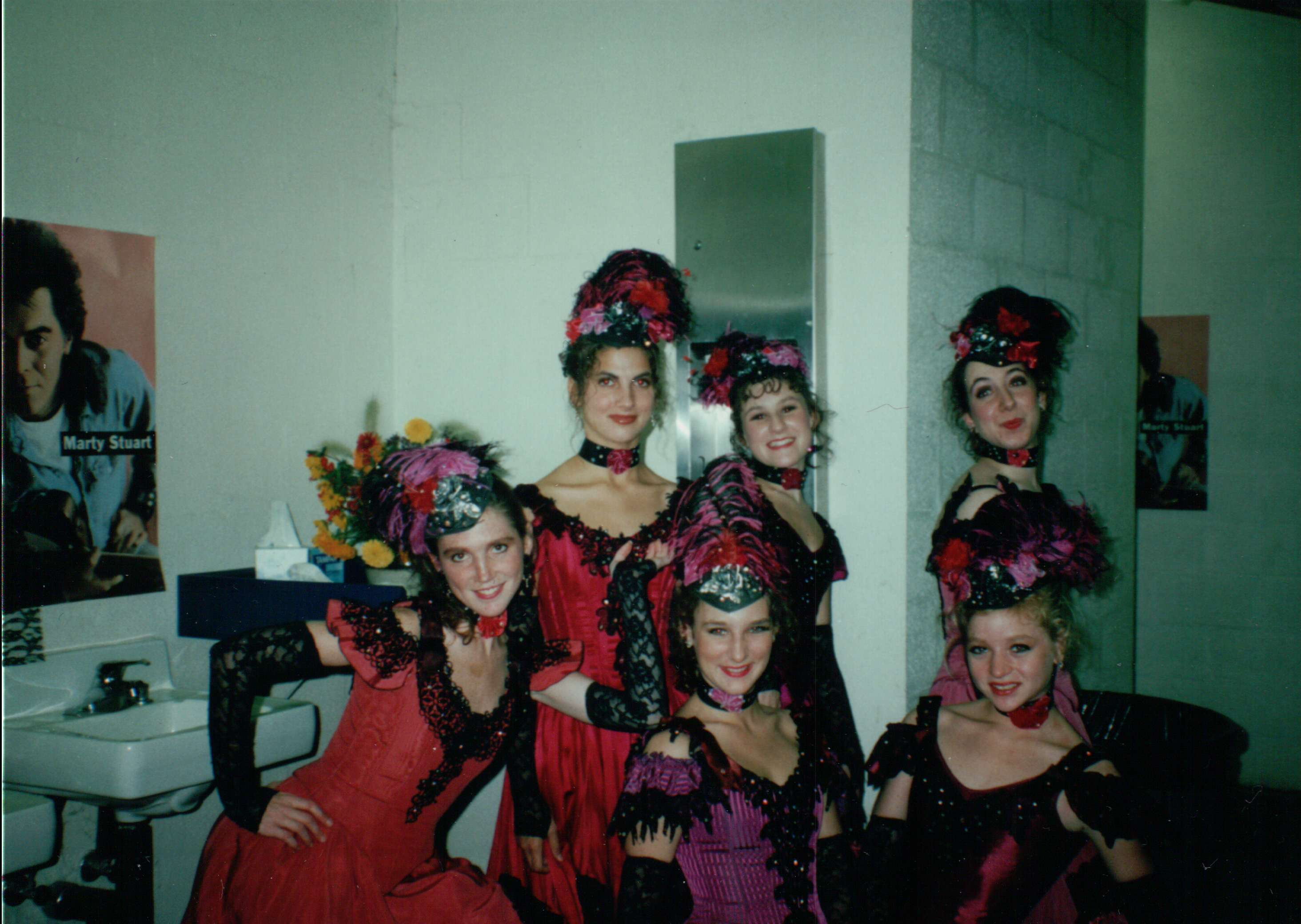 "Rachel in a performance of ""Can-Can"""