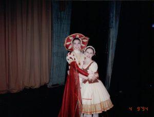 Rachel, in Giselle.